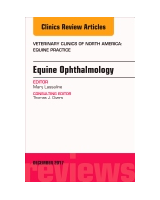 Equine Ophthalmology, An Issue of Veterinary Clinics of North America: Equine Practice, Volume 33-3