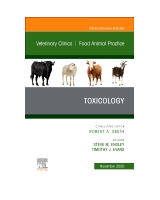 Toxicology, An Issue of Veterinary Clinics of North America: Food Animal Practice, Volume 36-3